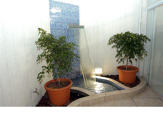 Jardim externo, um lugar agradável