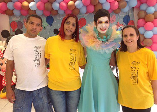 Responsabilidade Social Projeto Felicidade participação atriz Maria Flor