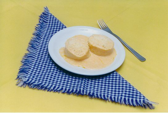 Rondelli ou canelone molho branco