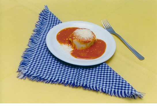 Rondelli ou canelone molho sugo