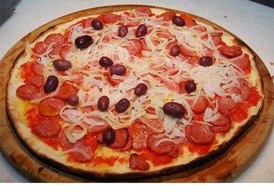 Noites de Diversão com pizza